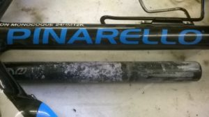 Stuck Seatpost? Seized bicycle seatpost removal by The
